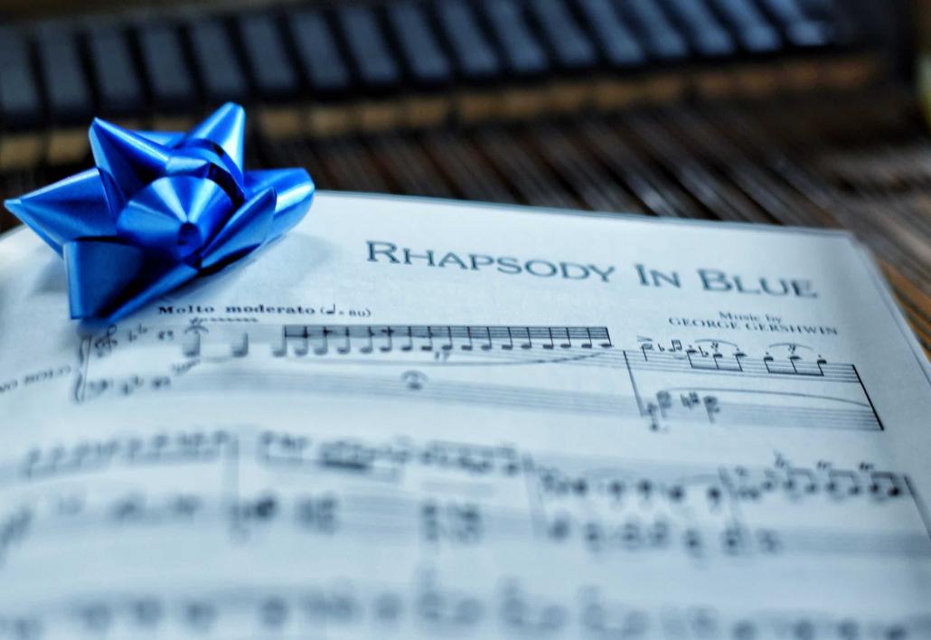 Gershwin's Rhapsody in Blue score
